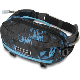 Dakine Hot Laps 5L Hip Bag cyan scribble